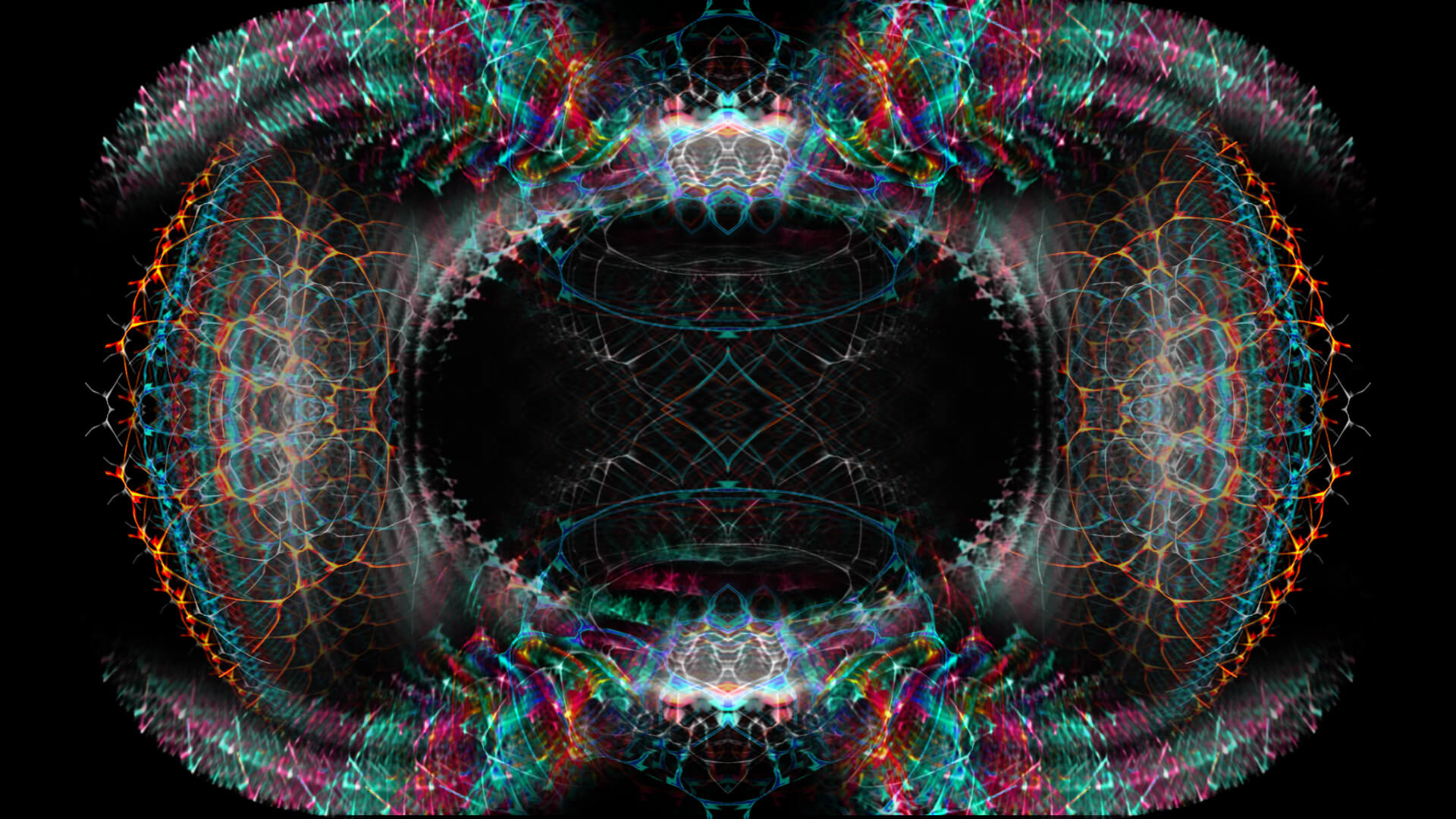 Between you and me - digital abstract art by Mitek
