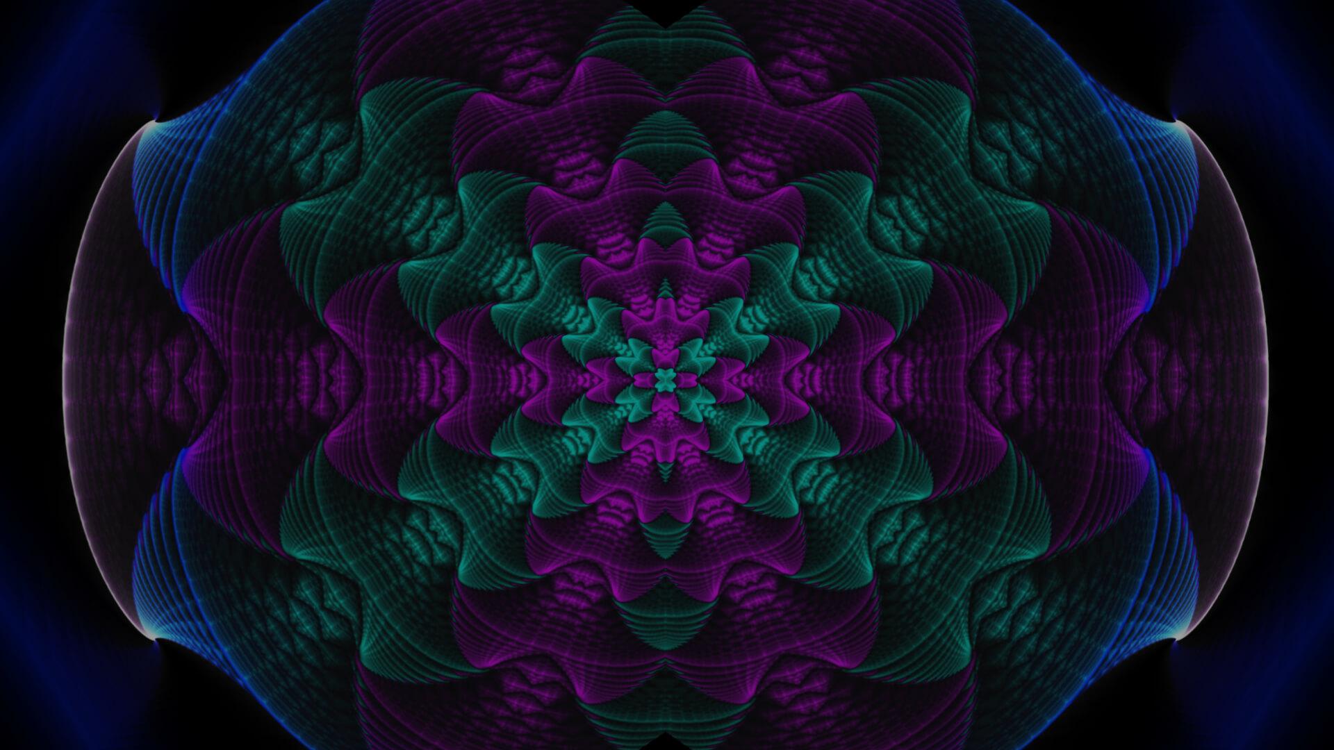 Velvet jewel - digital abstract art by Mitek