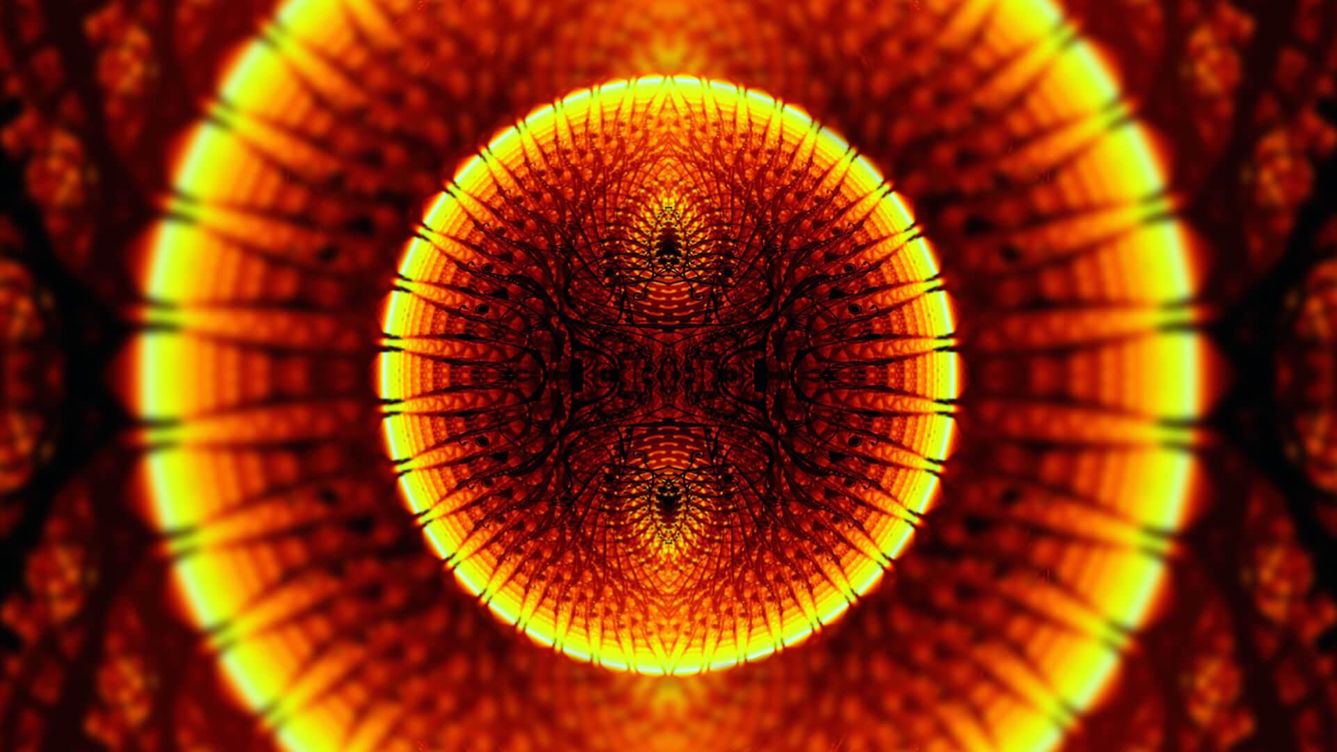 The star - digital abstract art by Mitek